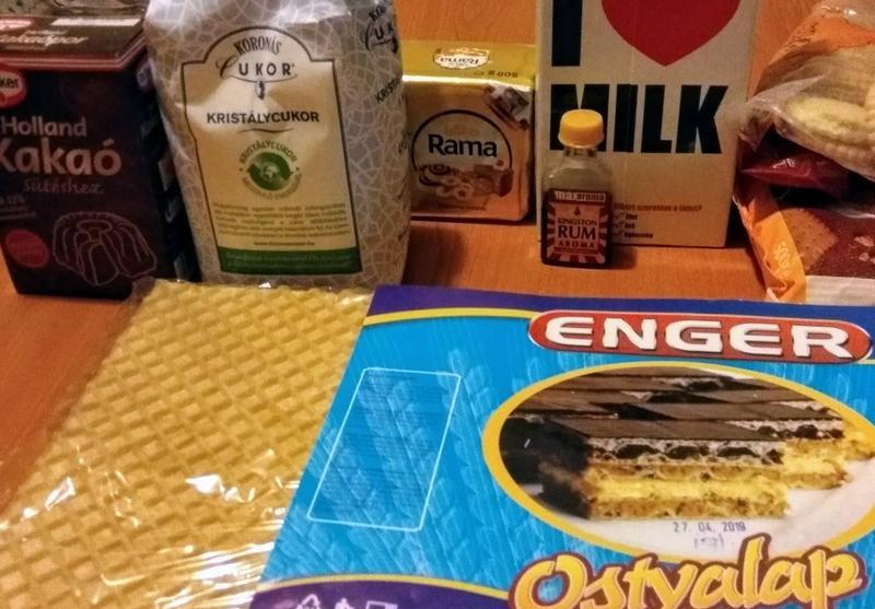 Ostyás keksztekercs * Receptek - Finom ízek egyszerűen, olcsón